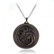 Lantisor Cu Pandantiv Game Of Thrones Dragon Daenerys Targaryen