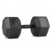 CAPITAL SPORTS Hexbell Dumbbell Haltère court de musculation 35kg