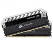 Memorie Corsair Dominator Platinum 8GB (2x4GB) DDR3 PC3-12800 CL9 1600MHz 1.5V XMP Dual Channel Kit, Link Connector, CMD8GX3M2A1600C9