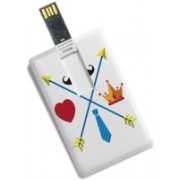 100yellow Credit Card Type Printed Designer 8GB Pen Drive/Data Storage -Gift For Father/Uncle 8 GB Pen Drive(Multicolor)
