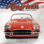 Merkloos Auto 2021 American Classic Cars wandkalender
