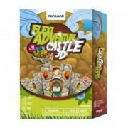 Puzzle 3D Castelul Miniland, 14 piese flexibile, 21 x 18 cm