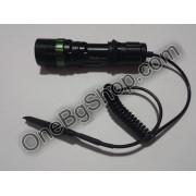 Мощен акумулаторен прожектор с CREE LED диод Police 20000W със спусък