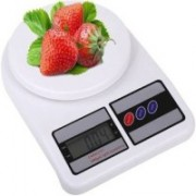 Kaur's Creation KS 1329 Electronic Digital Kitchen 10 kg Weighing Scale Weighing Scale(White)