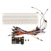 Платка MB102 + свързващи кабели