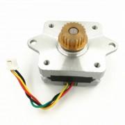 12v dc 2 fase 4-draads 35 stappenmotor 0,9 graden 20mm 3d printer stappenmotor
