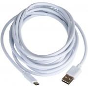 Mobiltelefon töltő kábel 3m Micro USB - USB