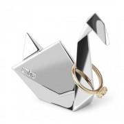 UMBRA Комплект от 3 бр. поставки за пръстени ORIGAMI - цвят хром