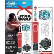 Детска електрическа четка за зъби Oral-B D100, Star Wars + Калъф