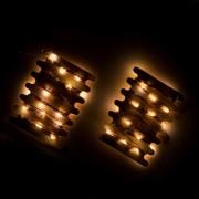 Bethlehem Lights Kit 2 fili di luci 24 micro LED con batterie incluse