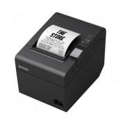 Термичен принтер Epson TM-T20III, USB, сериен, резачка, черен, комплект