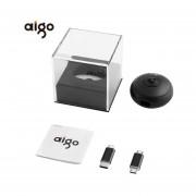 EY Cámara Panorámica Aigo Mini VR Cámara De Vídeo De 720 Grados Lente De Cámara Dual-Negro