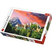 Puzzle Castelul Hohenschwangau Bavaria, 2000 piese