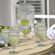 LOBERON Glazen set van 6 Leatrice / helder
