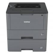 Brother HL-L5100DNT Schwarz-Weiß Laserdrucker, (automatischer Duplexdruck, LAN-fähig)