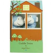 Angel Dear Cuddle Twin Set Bright Blue Monkey
