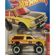 HOT WHEELS Hot Wheel chevy blazer 4 × 4 Chevy Blazer Yellow # 213