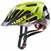 Uvex Quatro Casco per bici (56-61 cm, nero/verde/grigio)