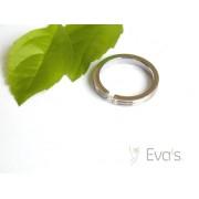 Dámský prsten z oceli