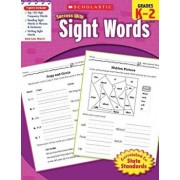 Scholastic Success with Sight Words, Grades K-2, Paperback/Inc Scholastic