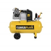 POWERPLUS Sárga kompresszor (POWX1770) - 2200 W/50 l