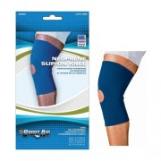 "Sportaid Neoprene Slip-On Knee Brace, Open Patella, Blue, Small, 13"" - 14"" Part No. SA9050 BLU SM Qty 1"