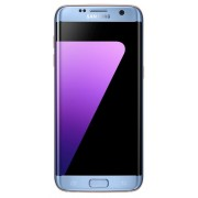 "Telefon Mobil Samsung Galaxy S7 Edge G935F, Procesor Octa-Core 2.3GHz / 1.6GHz, Super AMOLED Capacitive touchscreen 5.5"", 4GB RAM, 32GB Flash, 12MP, 4G, Wi-Fi, Android (Albastru) + Cartela SIM Orange PrePay, 6 euro credit, 4 GB internet 4G, 2,000 minute n"