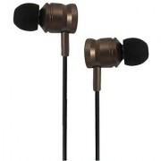 ha wired metal EWKC100 Earphone Brown