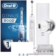 Oral B Genius 9000 Silver + Travel Case (OBPR9000)