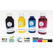 Crazy Sutra Superior Sublimation Ink 4 Color Black Yellow Cyan And Magenta Each 100 ml. For Inkjet Printer (Use with Epson Printer)
