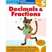 Decimals & Fractions Grade 5, Paperback