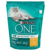 Purina One - Crocchette Bifensis Ricco In Pollo E Cereali Integrali Per Gatto Adulto 800g