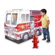 Casuta Din Carton Camionul De Pompieri Melissa And Doug