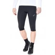 asics Knee Hardloop Shorts Heren zwart M 2018 Hardloopbroeken