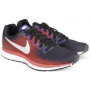 Nike AIR ZOOM PEGASUS 34 Running Shoes For Men(Black)