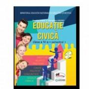 Educatie civica. Manual pentru clasa a IV-a sem I+sem II contine editie digitala Dumitra Rada