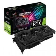 Видео карта Nvidia GeForce RTX 2080 Ti, 11GB, Asus ROG Strix Gaming OC, PCI-E 3.0, GDDR6, 352 bit, 2x DisplayPort, 2x HDMI, 1x USB-C, Aura Sync RGB подсветка