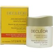 Decleor aromessence marjolaine nourishing balsamo per la notte 15ml pelle secca/molto secca
