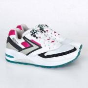 Brooks Beast 1 white/black/pink/aquablue