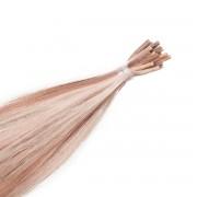 Rapunzel® Extensions Naturali Stick Hair Original Liscio M7.1/10.8 Natural Ash Blonde Mix 50 cm