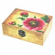 Livrare in cutie de lemn pictata manual