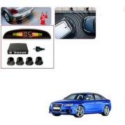 Auto Addict Car Black Reverse Parking Sensor With LED Display For Audi RS 6