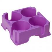 Muggi Plateau support 4 tasses Muggi - Violet