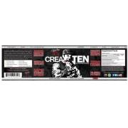 Rich Piana 5% Nutrition Crea-Ten kreatin készítmény 231g - 10 féle kreatinnal és felszívódást segítő formulával