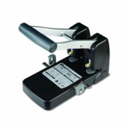 Perforator 100 Coli Model P-1000 Noki negru Metal + Plastic Perforator birou 61-100 coli cu 2 perforatii