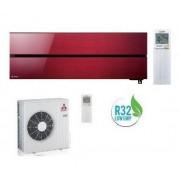 Mitsubishi ELECTRIC Kirigamine Style Ruby Red MSZ-LN50VGR/MUZ-LN50VG 18000 BTU WI-FI A+++/A++ - Gas R-32