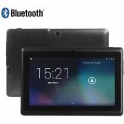 """7 """"Black Quad Core Android 4 Q88h A33 Cámara WiFi 1g / 8GB Tablet MID - Enchufe De La UE"""