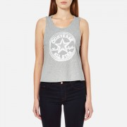 Converse Women's CP Swing Tank Top - Vintage Grey Heather - XS - Grey