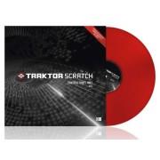 Traktor Scratch Pro Control Vinyl Red Vinile Controllo Rosso