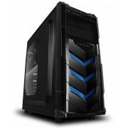Kuciste Raidmax Vortex V4, 12cm Fan/ToolFree/USB 3.0/Anti Dust/Blue/404WBU